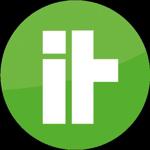Grün weißes Webseiten Icon rund des IT-Kongress 2021 in Neu-Ulm und Ulm