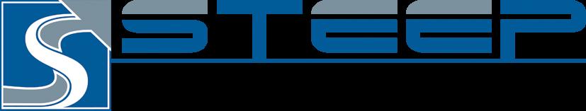 Logo der Unterstützer: Steep Logo blau - this way up